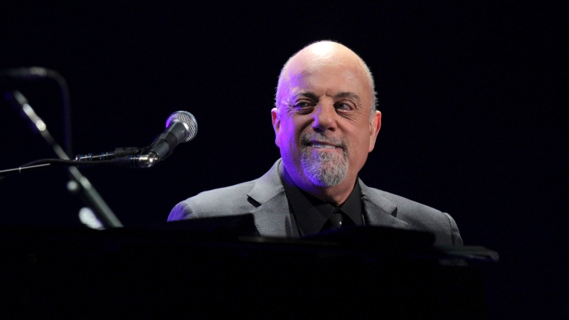 Billy Joel performs his first show of his Madison Square Garden residency, on Monday, Jan. 27, 2014, in New York. (Photo by Greg Allen/Invision/AP)