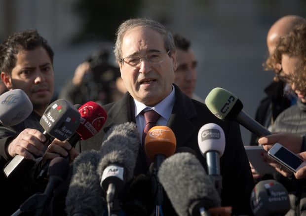 Geneva Syria peace talks