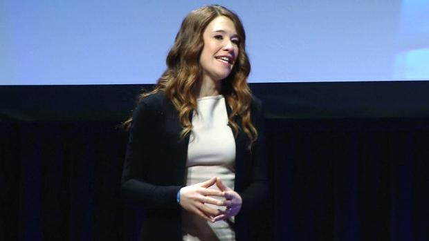 Clara Hughes, national spokesperson