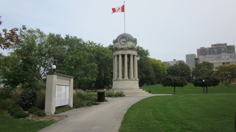 Victoria Park in Kitchener, Ont., is seen in this file photo from September 2010.