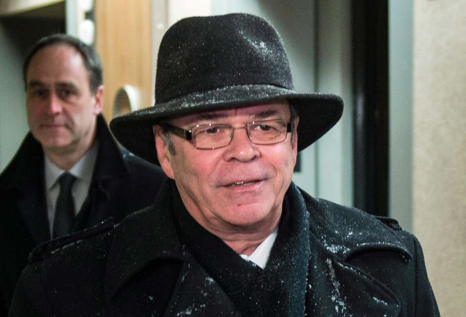 Former FTQ president Michel Arsenault arrives at the Charbonneau Commission looking into corruption in the Quebec construction industry Monday, January 27, 2014 in Montreal. (Paul Chiasson / THE CANADIAN PRESS)