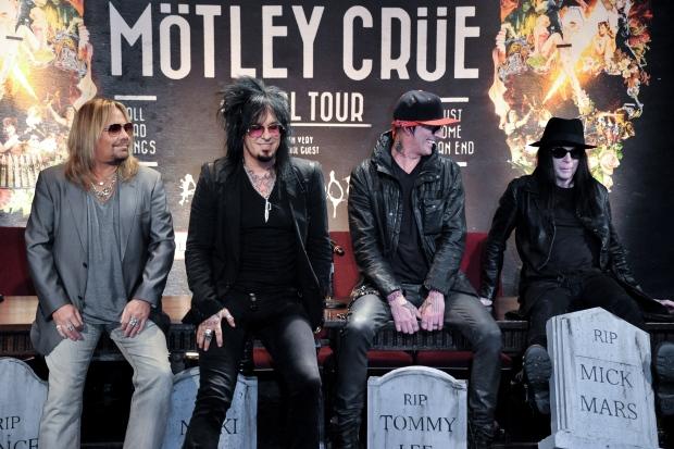 Motley Crue to retire after 72-show tour