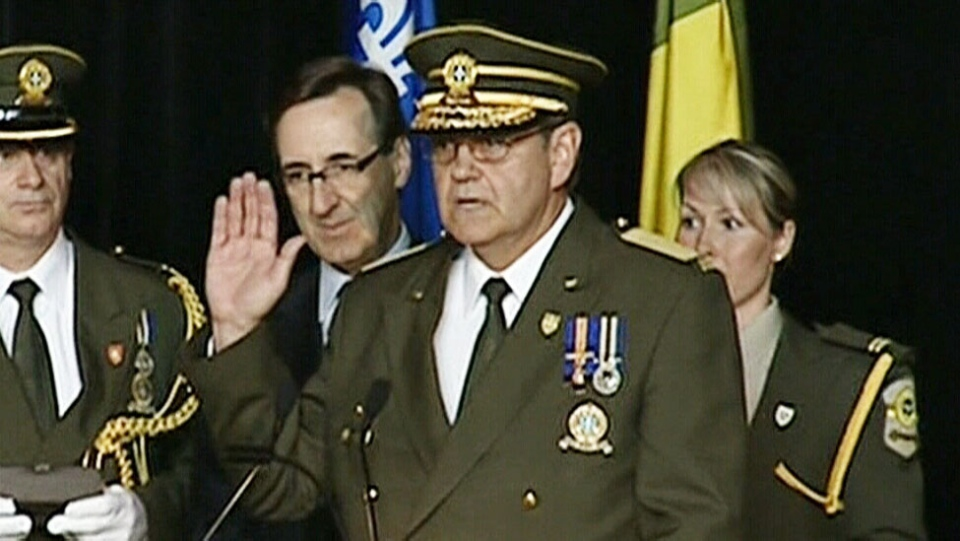 Richard Deschenes, the force's former director-general, is seen in this undated image.