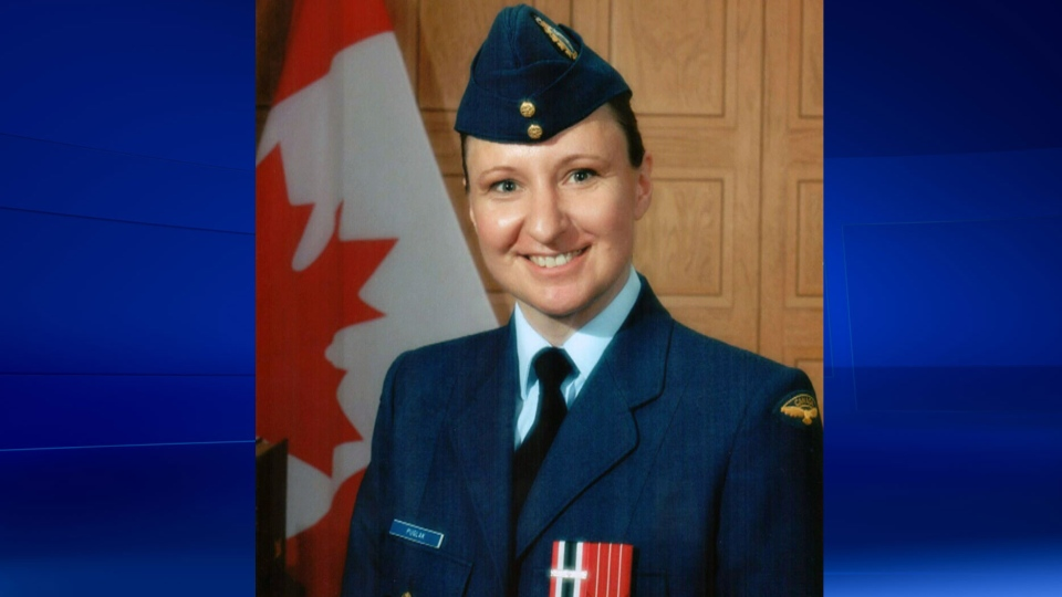 Cpl. Leona MacEachern, a veteran of the Canadian Armed Forces, drove her car into an oncoming transport truck on Dec. 25, 2013.