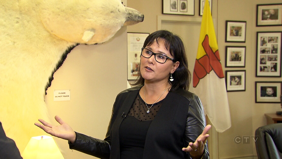 Conservative MP Leona Aglukkaq attended a fundraiser in her honour at an upscale hotel in Ottawa, Ont., Tuesday, Jan. 28, 2014.