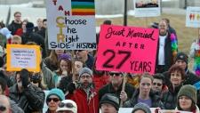 Utah gay marriage supporters