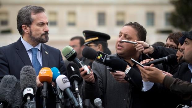 Louay Safi in Geneva on Jan. 29, 2014.