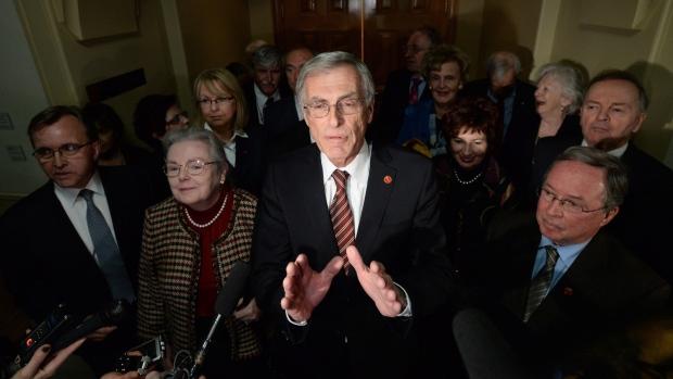 Liberal senators on new independence