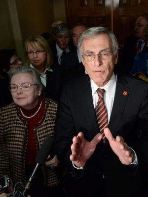 Liberal Senators weigh in on new independence