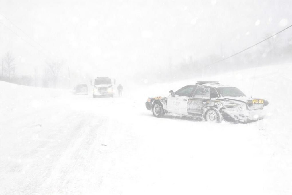 Snow squalls possible in part of Grey Bruce