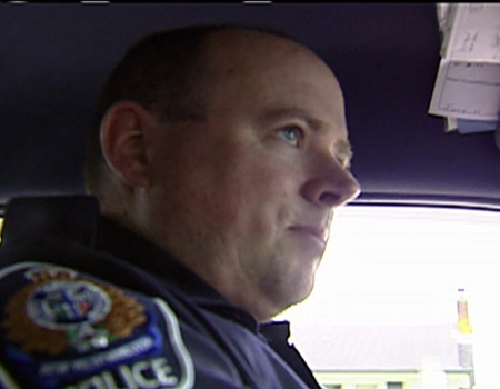 In June 2005, Const. Todd Sweet was involved in the pursuit of a driver he admitted to kicking once in the head.