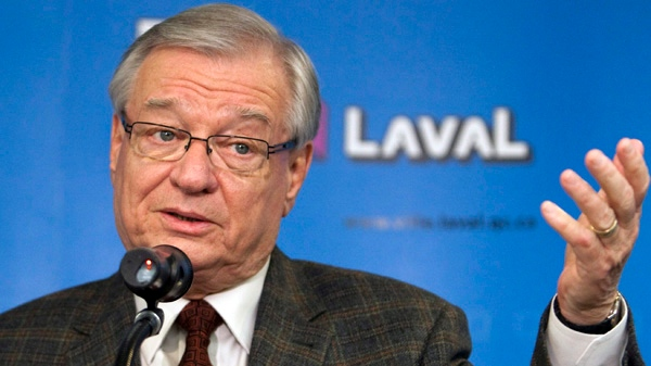 Laval Mayor Gilles Vaillancourt in a photo taken November 16, 2010 in Laval, Quebec. (THE CANADIAN PRESS/Ryan Remiorz)