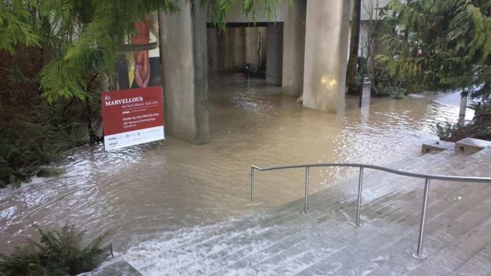 UBC flood