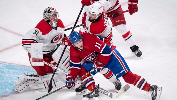 Habs beat Hurricanes
