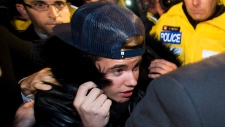 Justin Bieber surrenders to police