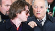 Raffaele Sollecito and his father Francesco