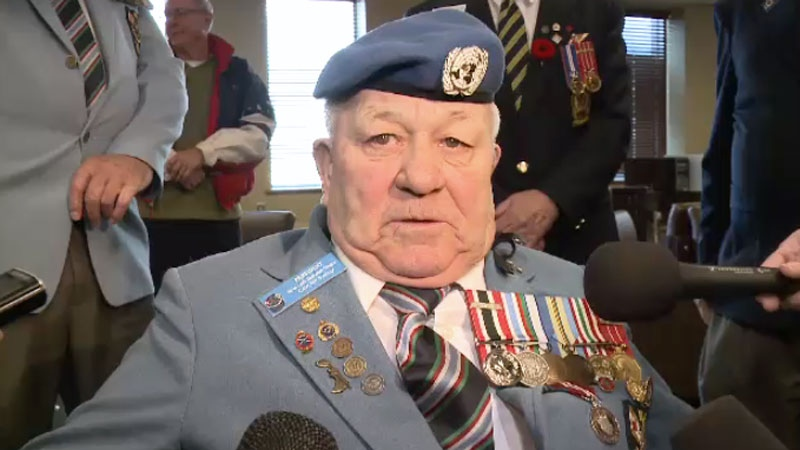 War veteran Ron Clarke is back home in Sydney, N.S. after meeting with Veterans Affairs Minister Julian Fantino in Ottawa. (CTV Atlantic)