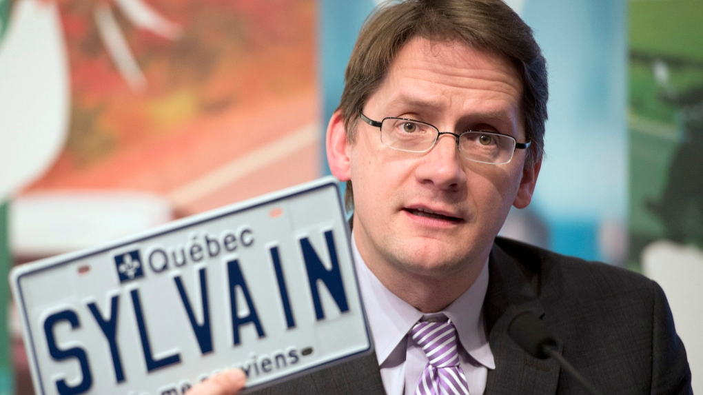 Quebec Transport Minister Sylvain Gaudreault