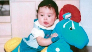 Phoenix Sinclair is shown in a family photo released by the Commission of Inquiry looking into her 2005 death. (THE CANADIAN PRESS)