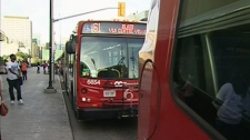 The majority of OC Transpo bus riders adjusted to nearly 100 bus route changes, Tuesday, Sept. 6, 2011.