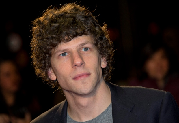 Jesse Eisenberg cast as Lex Luther