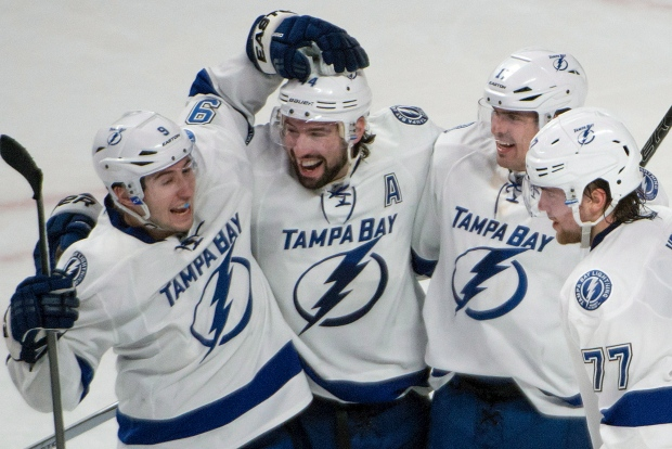 Tampa Bay beats Montreal in overtime