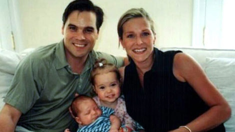 Michael Pelletier is shown with his wife Sophie and their three-month-old son Nicolas and two-year-old daughter Sydney in an undated photo. Pelletier was amongst the Canadian victim of the 9-11 attacks. THE CANADIAN PRESS/HO