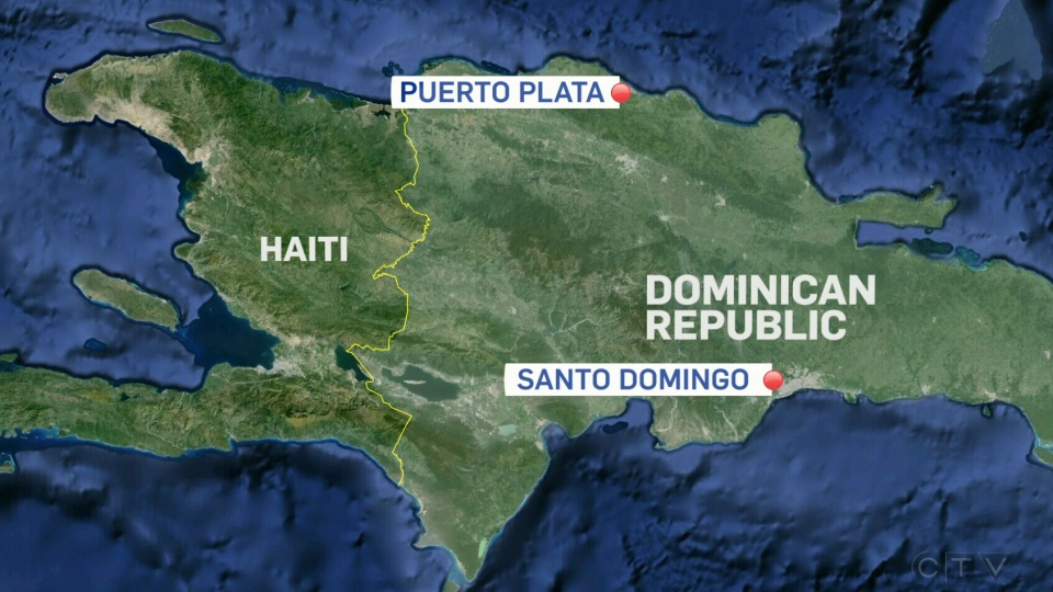 A group of Manitoba high school students has returned early from a trip to the Dominican Republic, after a Canadian man living on the island nation was shot during a violent break-in at a compound where the teens were staying.