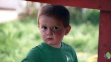 Three-year-old Kienan Hebert disappeared from his home in Sparwood, B.C. on Sept. 7, 2011. (Handout)