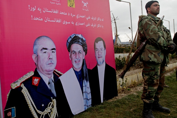 Afghanistan presidential elections kick off
