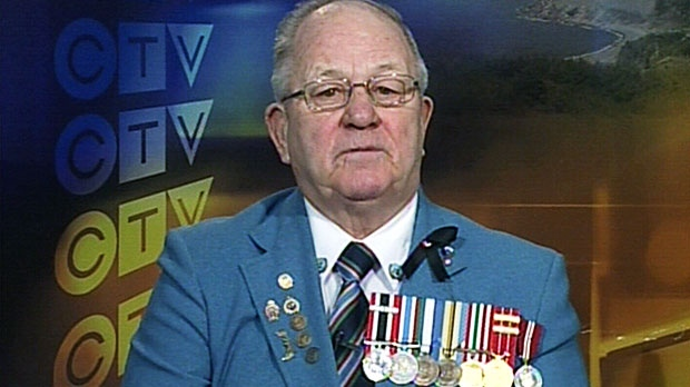 Canadian Forces veteran Ronald Clarke speaks in an interview that aired on CTV's Question Period, Sunday, Feb. 2, 2014.