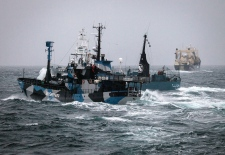Japanese whaling vessel