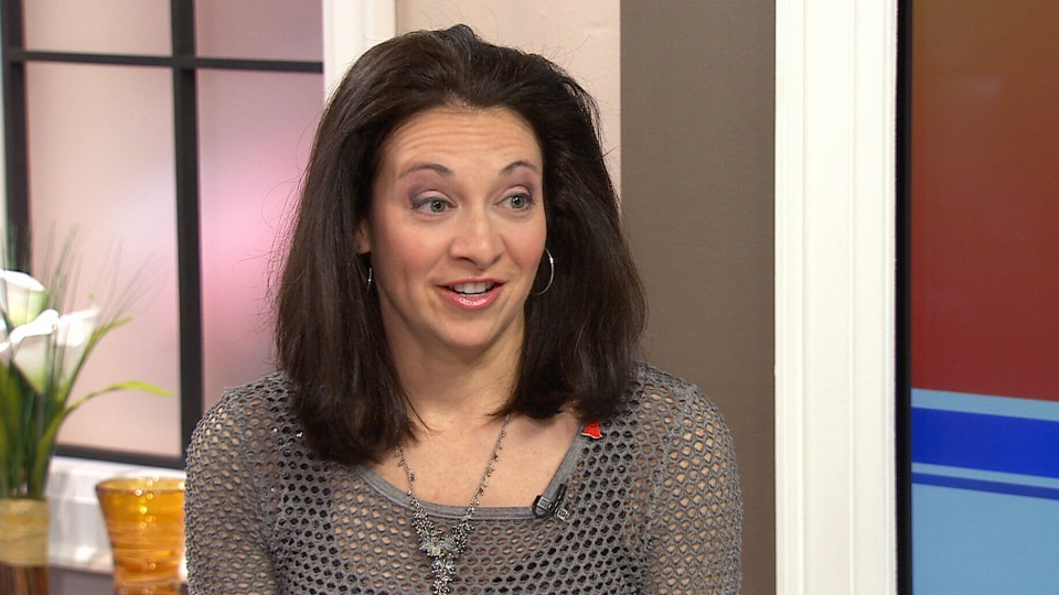 Olympic figure skater Isabelle Brasseur appears on Canada AM, Monday, Feb. 3, 2014.