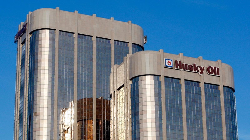 The Husky Energy towers in Calgary