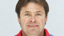 This undated photo shows Canadian Brad McCrimmon, coach of the Lokomotiv ice hockey team, who was killed in a plane crash on Wednesday, Sept. 7, 2011.  (Photo Agency KHL)