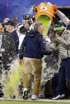 Seattle Seahawks wins super Bowl