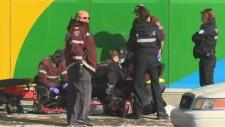 Paramedics and police