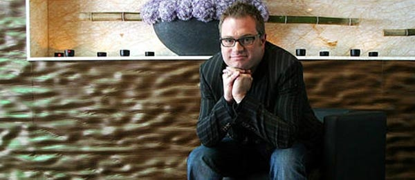 Barenaked Ladies frontman Steven Page poses for a photo in Toronto, Ont. on Monday, June 20, 2005. (Nathan Denette / THE CANADIAN PRESS)