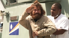 Doubt after 'castaway' says he was lost at sea