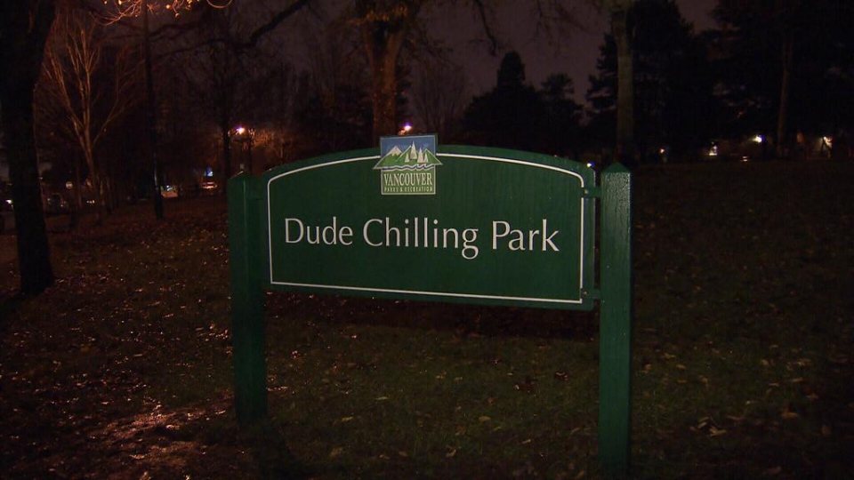 Park Board approves Dude Chilling Park sign
