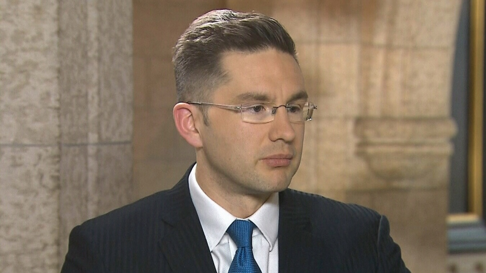 Conservative MP Pierre Poilievre, the junior minister in charge of democratic reform, appears on CTV's Power Play from Ottawa on Tuesday, Feb. 4, 2014.