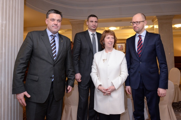 EU minister meets with Ukraine president