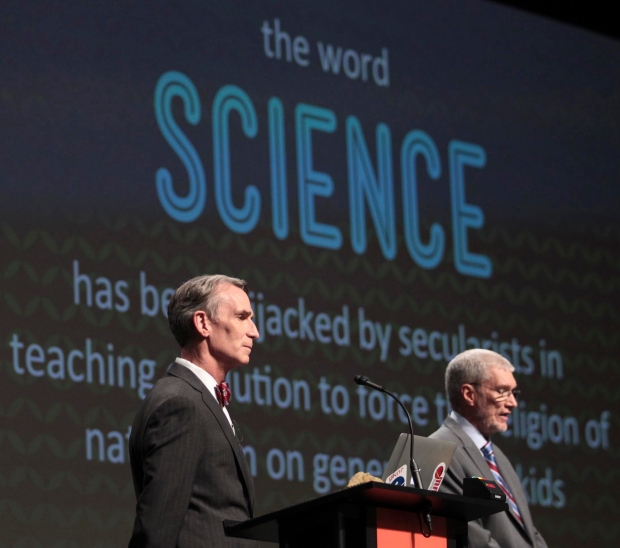 Bill Nye debates Ken Ham science details