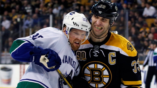 Bruins beat Canucks