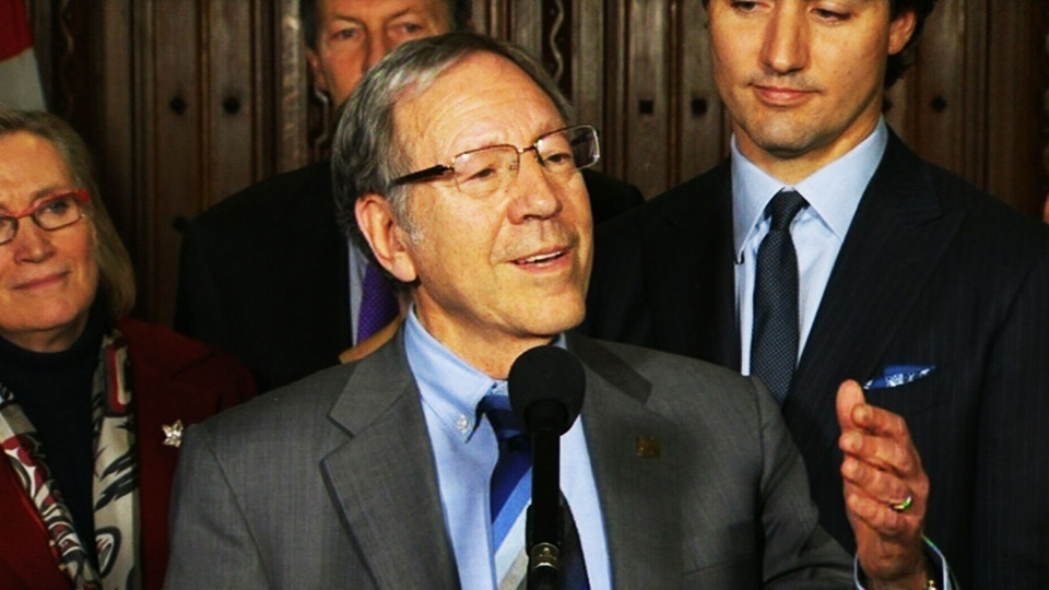 Veteran Liberal MP and former minister of justice Irwin Cotler announces that he will not be running in next year's federal election on Wednesday, Feb. 5, 2014.