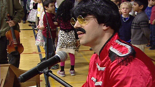 "Music teacher Stephen ""Ringo"" Eisenhauer"