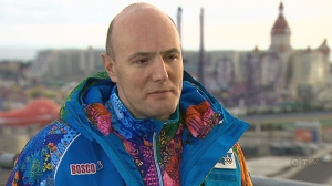 Dmitry Chernyshenko, president and CEO of the Sochi Olympic Organizing Committee, speaks with CTV News' Chief Anchor and Senior Editor Lisa LaFlamme in Sochi.