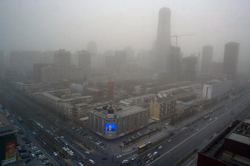 delhi air pollution report