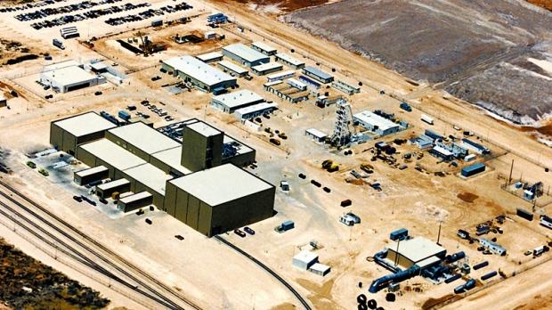 Waste Isolation Pilot Plant near Carlsbad, N.M.