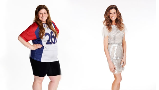 """'The Biggest Loser' contestant Rachel Frederickson, who lost nearly 60 percent of her body weight to win the latest season of """"The Biggest Loser"""" and pocket $250,000. (AP Photo/NBC, Trae Patton)"""